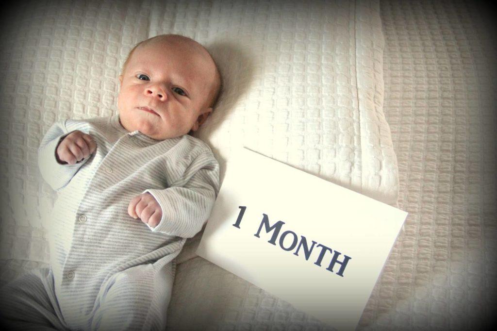 Первый месяц рождения ребенка
